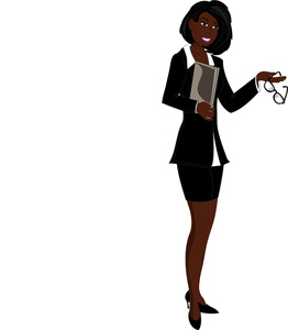 Businesswoman Clipart Image   African American Businesswoman   Black