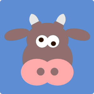 Cartoon Cow Head Clip Art At Clker Com   Vector Clip Art Online