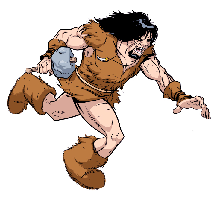 Caveman Images : Caveman d clipart kid