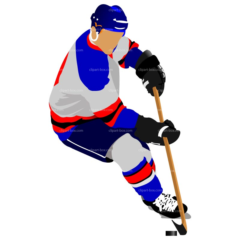 Hockey Player Clipart - Clipart Suggest