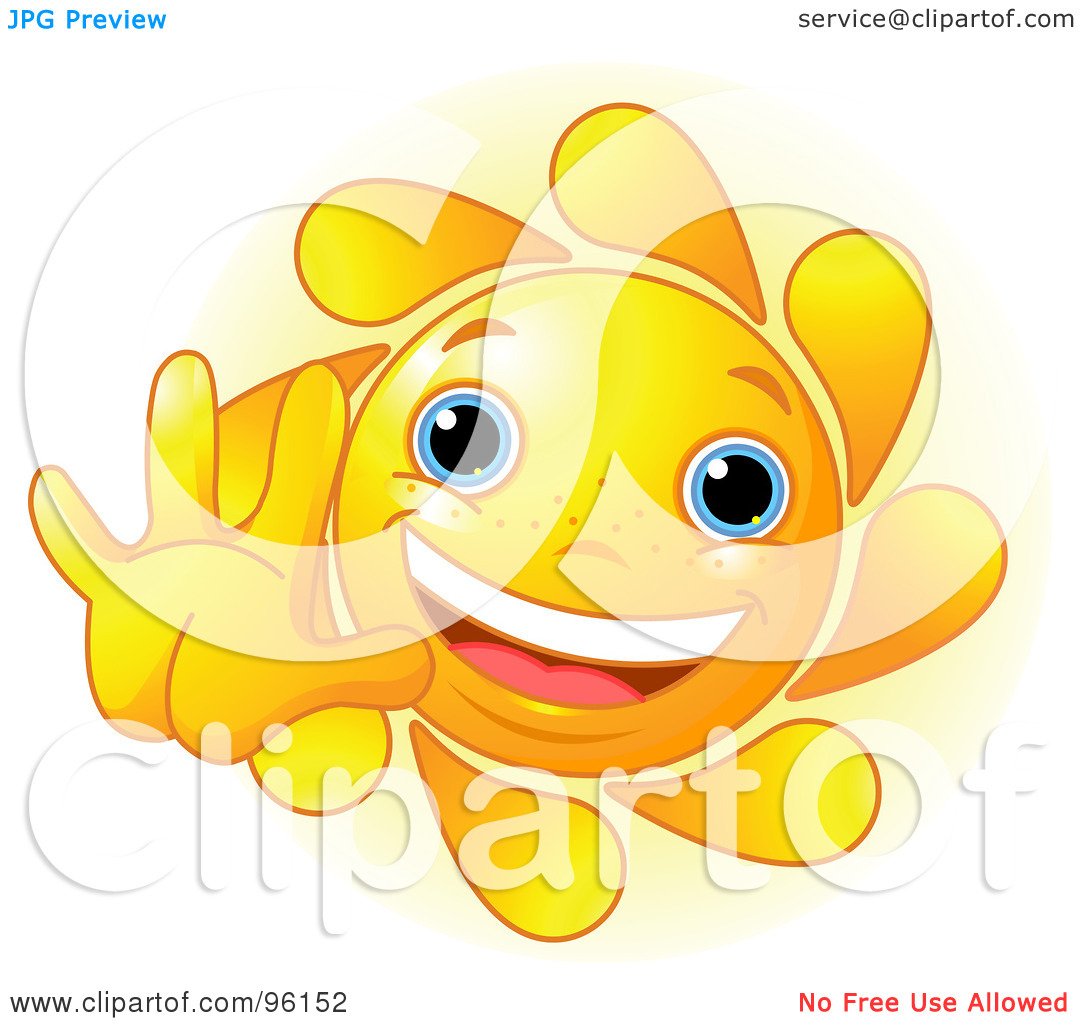 Cute Sunshine Clipart
