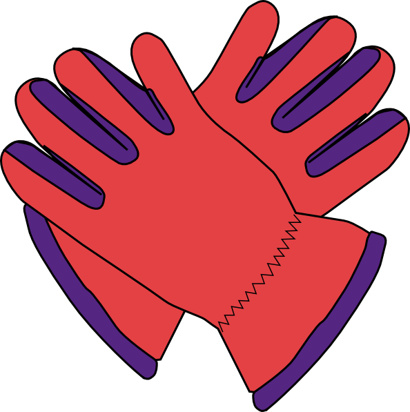 Gloves Clip Art At Clker Com   Vector Clip Art Online Royalty Free