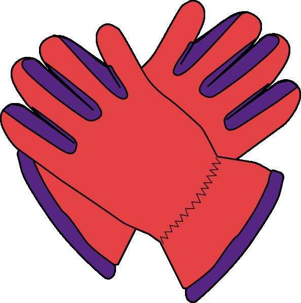 Gloves Clip Art At Clker Com   Vector Clip Art Online Royalty Free