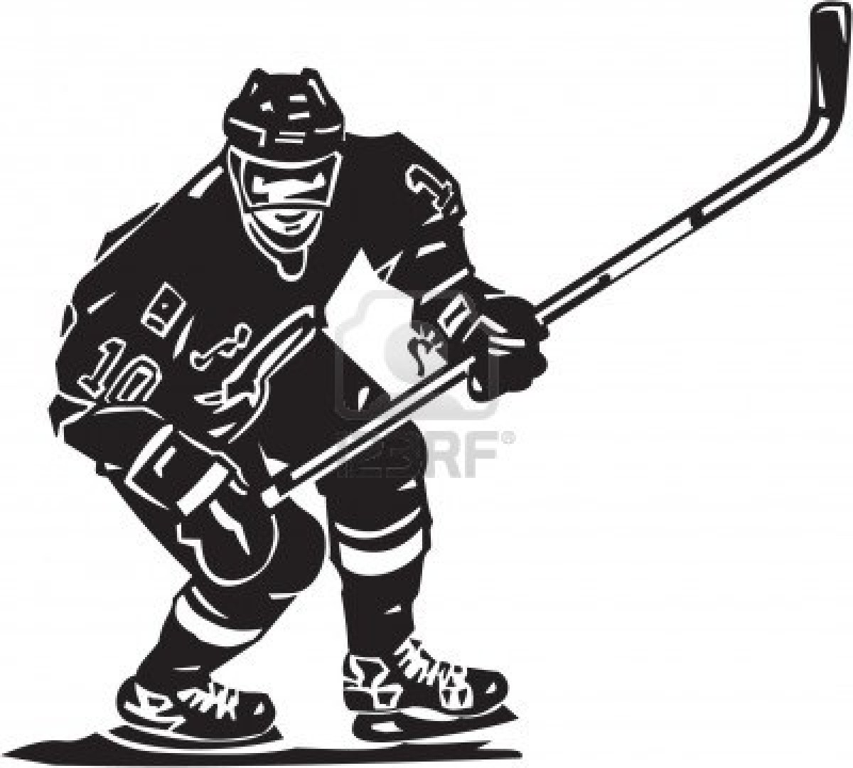 Clip Art Hockey Player Clipart hockey player clipart kid clip art art