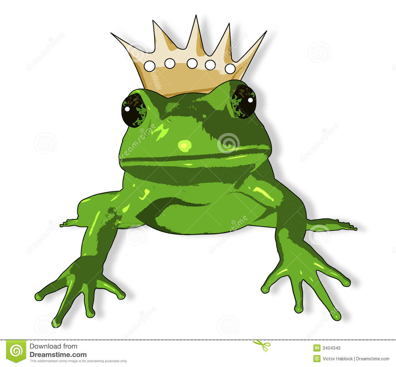 Like Image Of A Frog As Depicted As The Frog Prince In The Fairy Tail