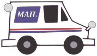 Usps Mail Truck Clipart - Clipart Suggest
