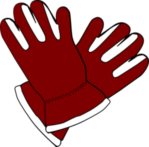 Red Gloves Clip Art At Clker Com   Vector Clip Art Online Royalty
