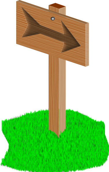 Sign Post Clip Art At Clker Com   Vector Clip Art Online Royalty Free