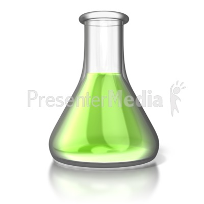 Single Chemistry Flask   Science And Technology   Great Clipart For