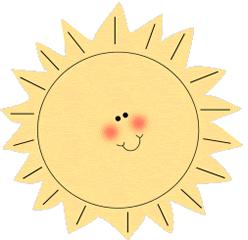 Cute Sun Clipart - Clipart Kid