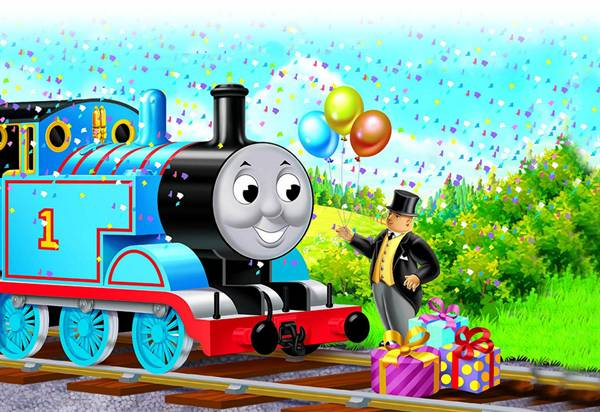 Thomas The Train Clipart - Clipart Kid