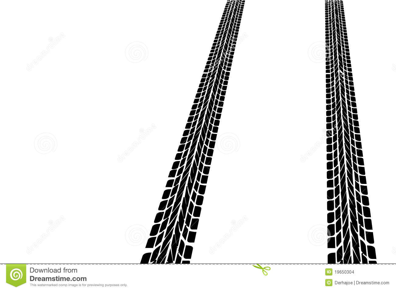 Tire Tread Marks Clipart Car Tires Stock Images