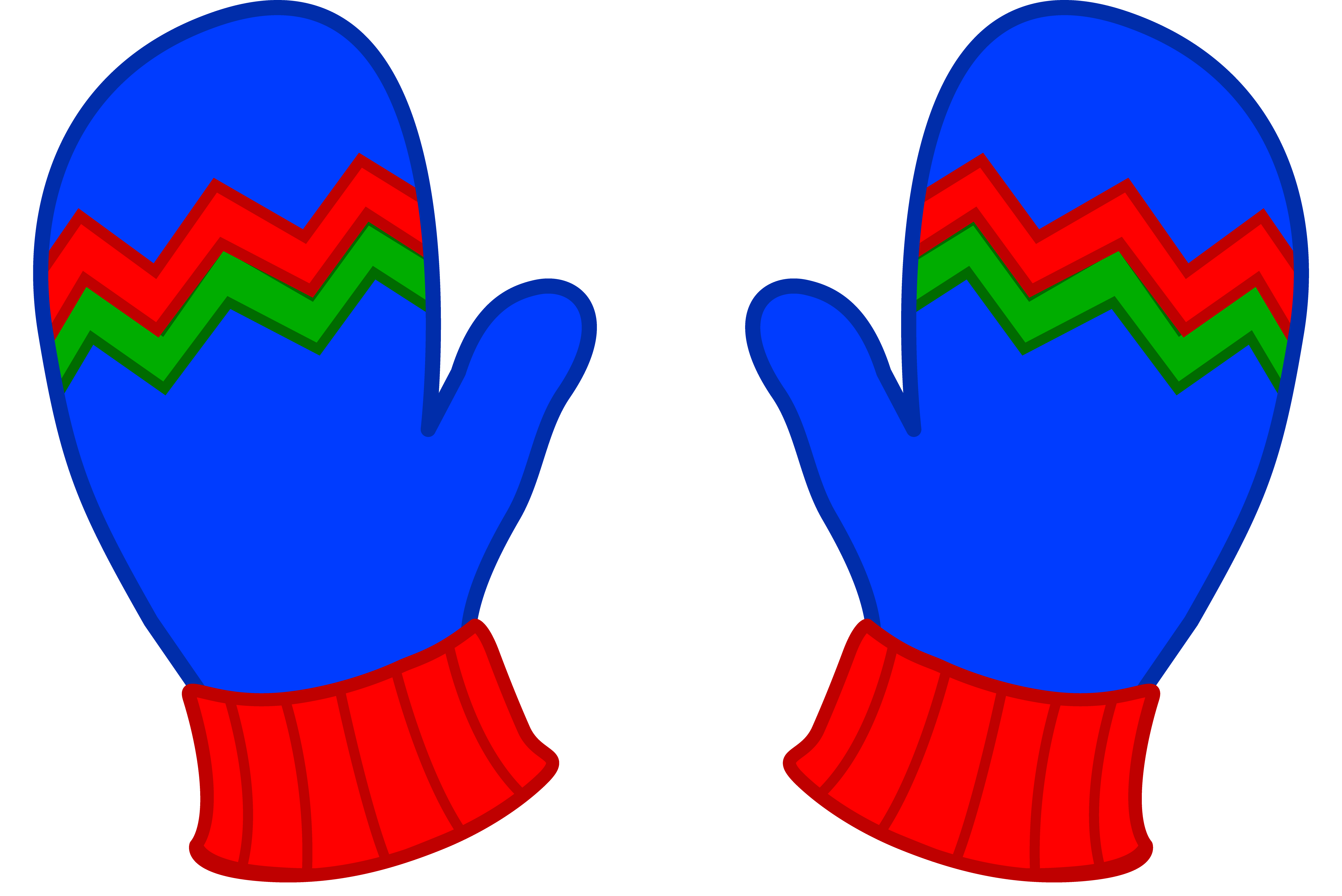 Winter Mittens Clipart - Clipart Kid