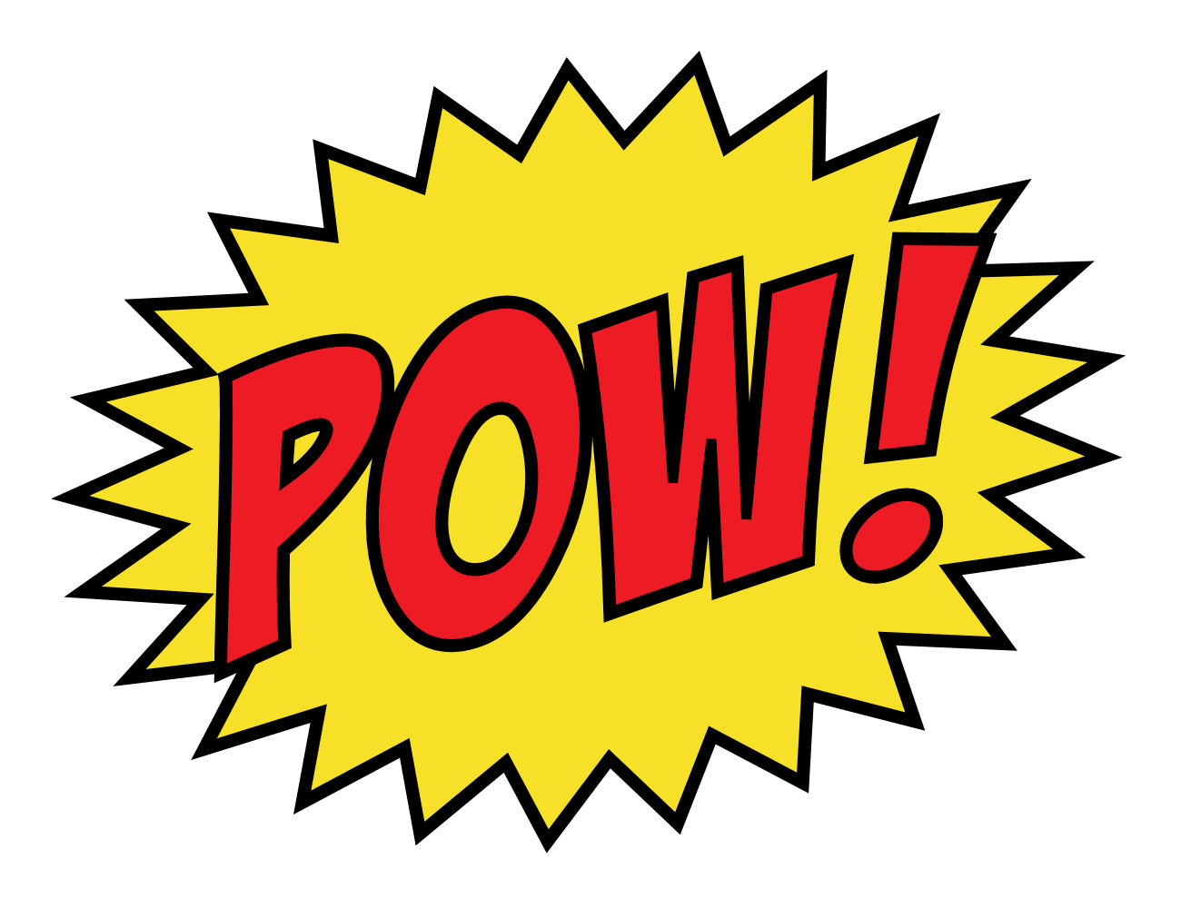 15 Pow Super Hero Sign Free Cliparts That You Can Download To You