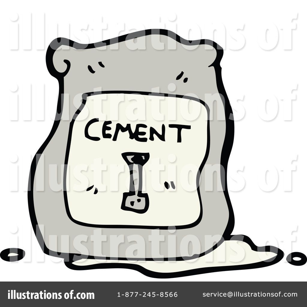 Cement Clipart  1190888   Illustration By Lineartestpilot