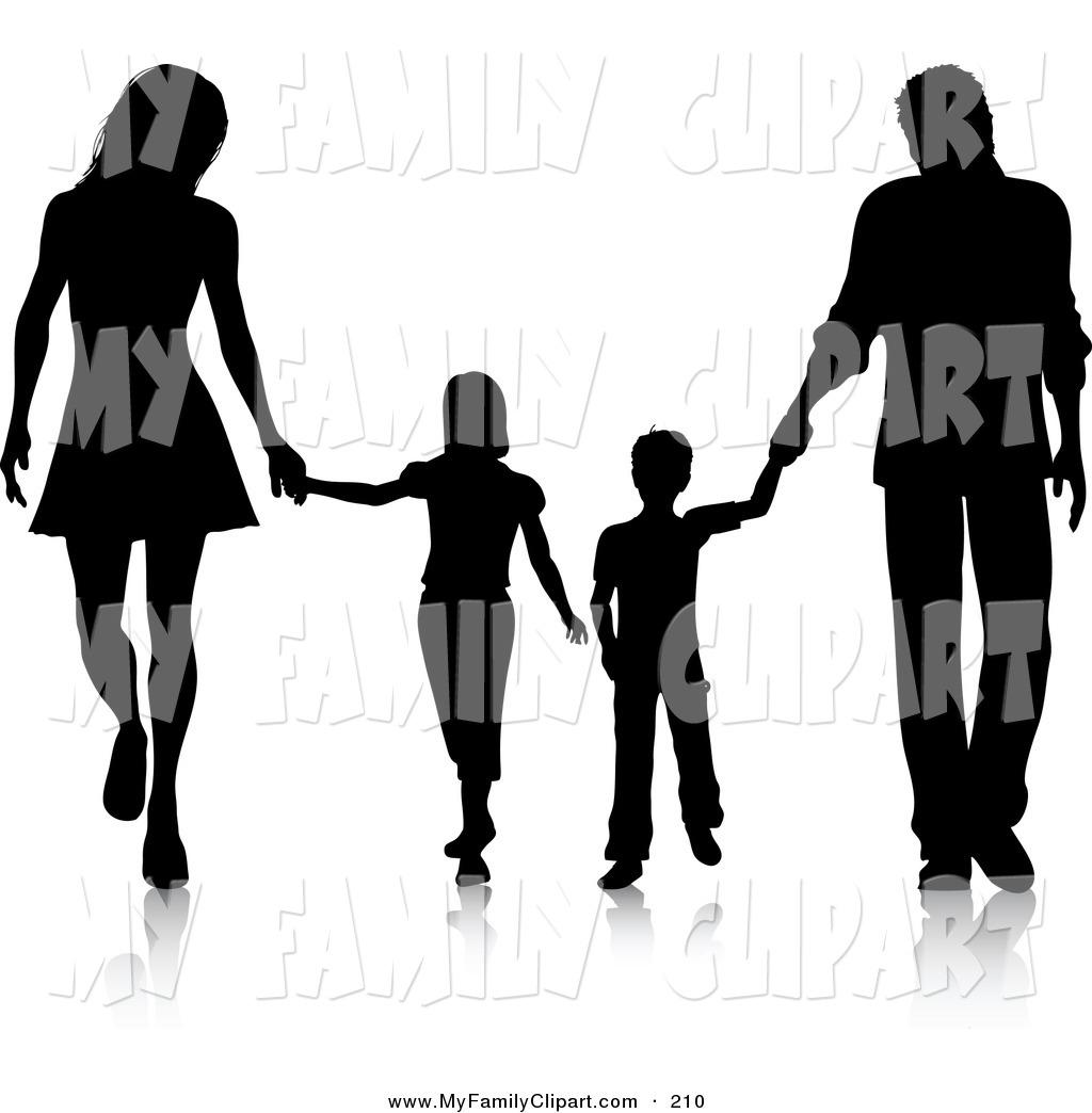 Black Family Praying Clipart - Clipart Kid