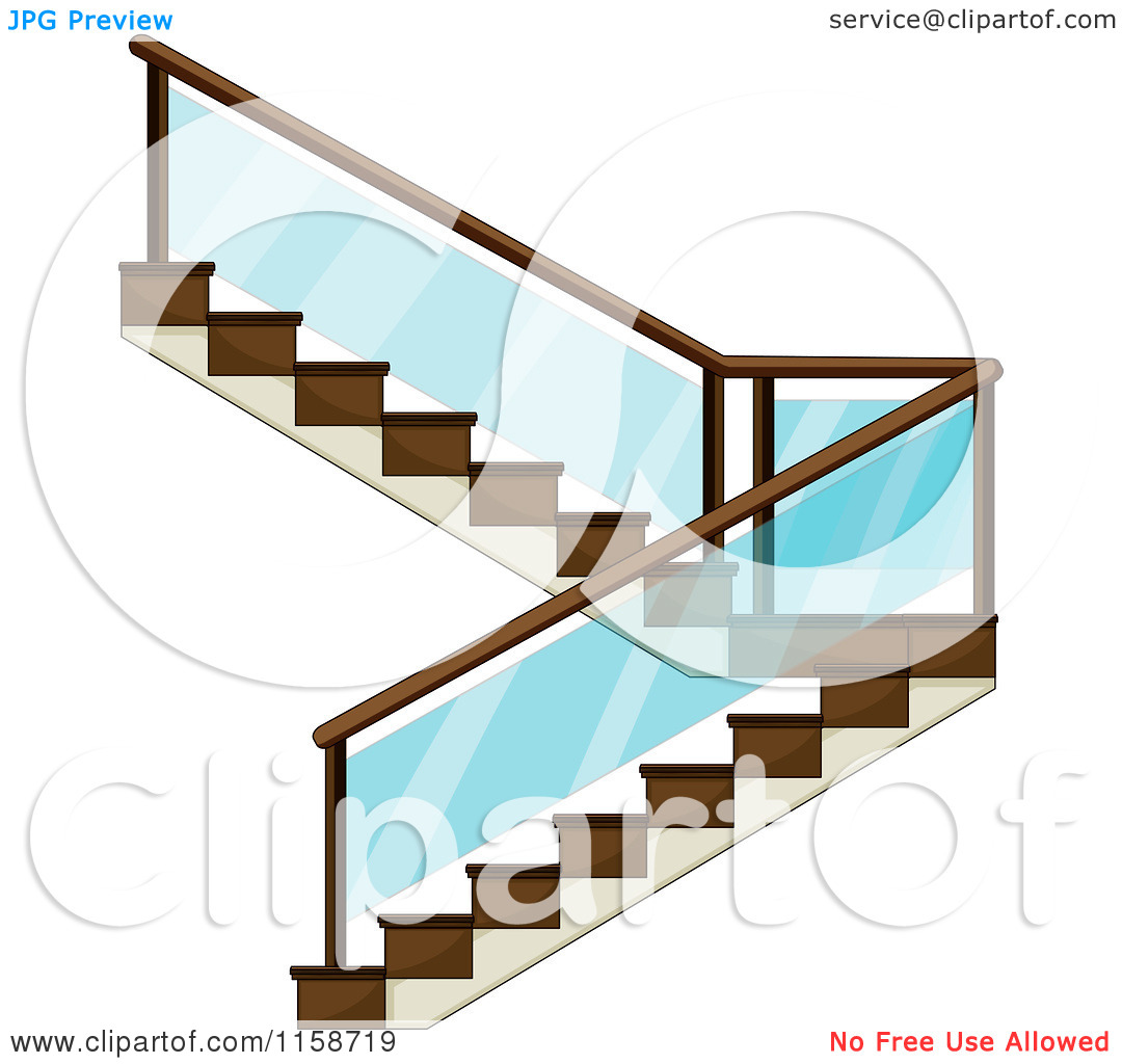 Cabinet Maker Clip Art: Staircase Clipart