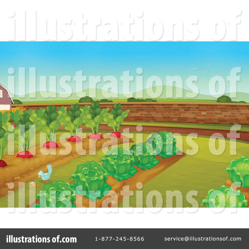 Garden Clipart  1123930   Illustration By Colematt