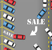 Parking Lot Illustrations And Clipart  191 Parking Lot Royalty Free