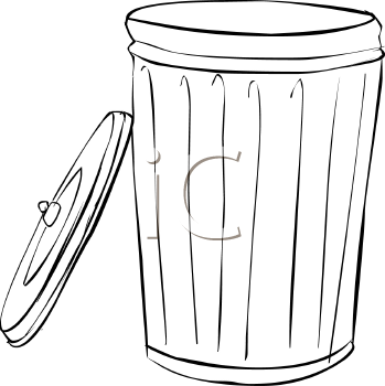 Rolling Garbage Can Clipart - Clipart Suggest