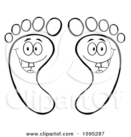 Royalty Free  Rf  Happy Feet Clipart   Illustrations  1