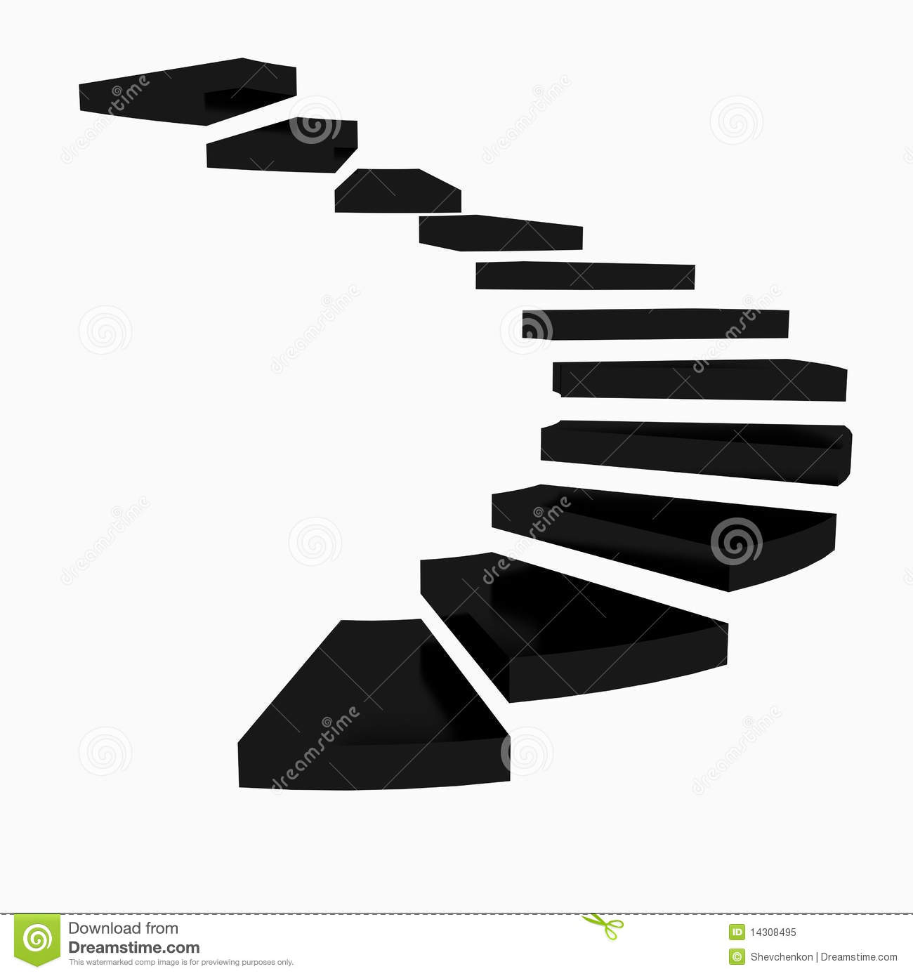 Spiral Staircase Royalty Free Stock Photo   Image  14308495