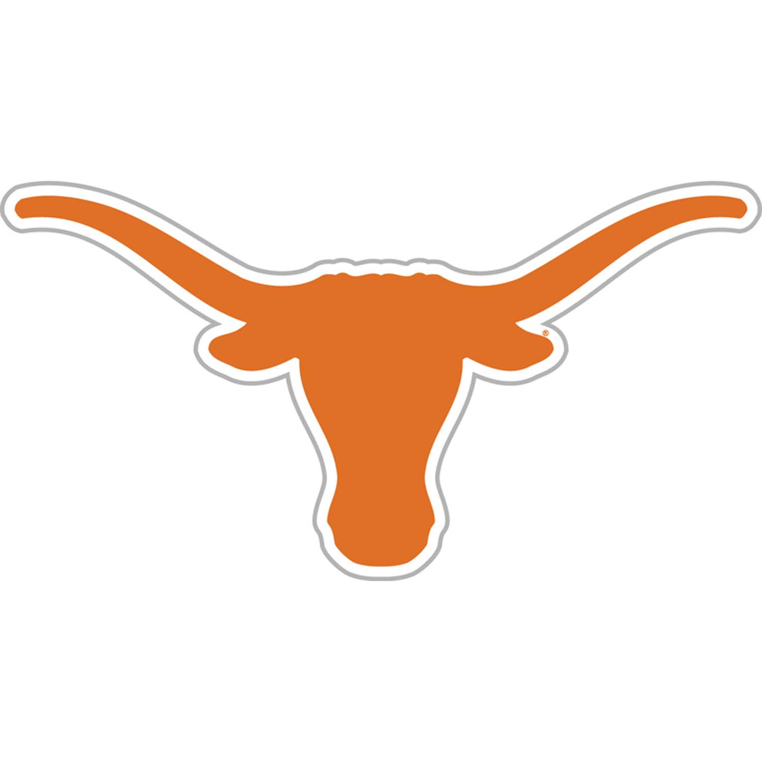 Texas Longhorns Vinyl Magnet Set Of 2   Part   Bsi 58767