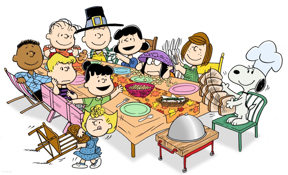 Charlie Brown Thanksgiving Clipart - Clipart Kid