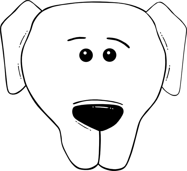 To Draw A Dog Face Easy Free Cliparts That You Can Download To You