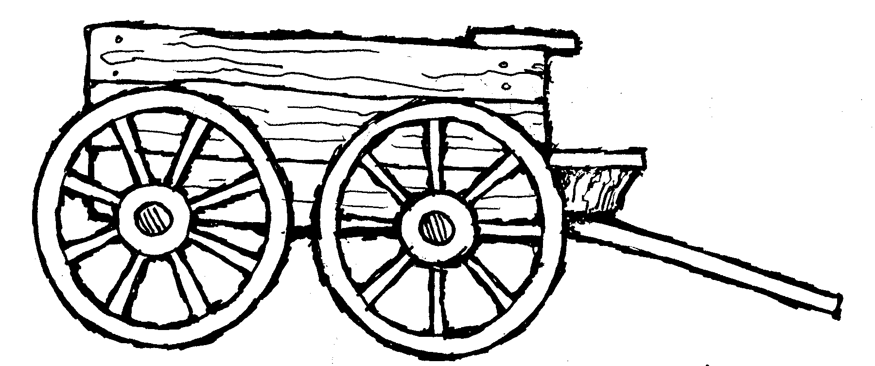 Wagon Wheel Clipart   Cliparts Co