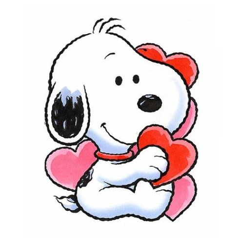 Snoopy Valentine Animated Clipart - Clipart Kid