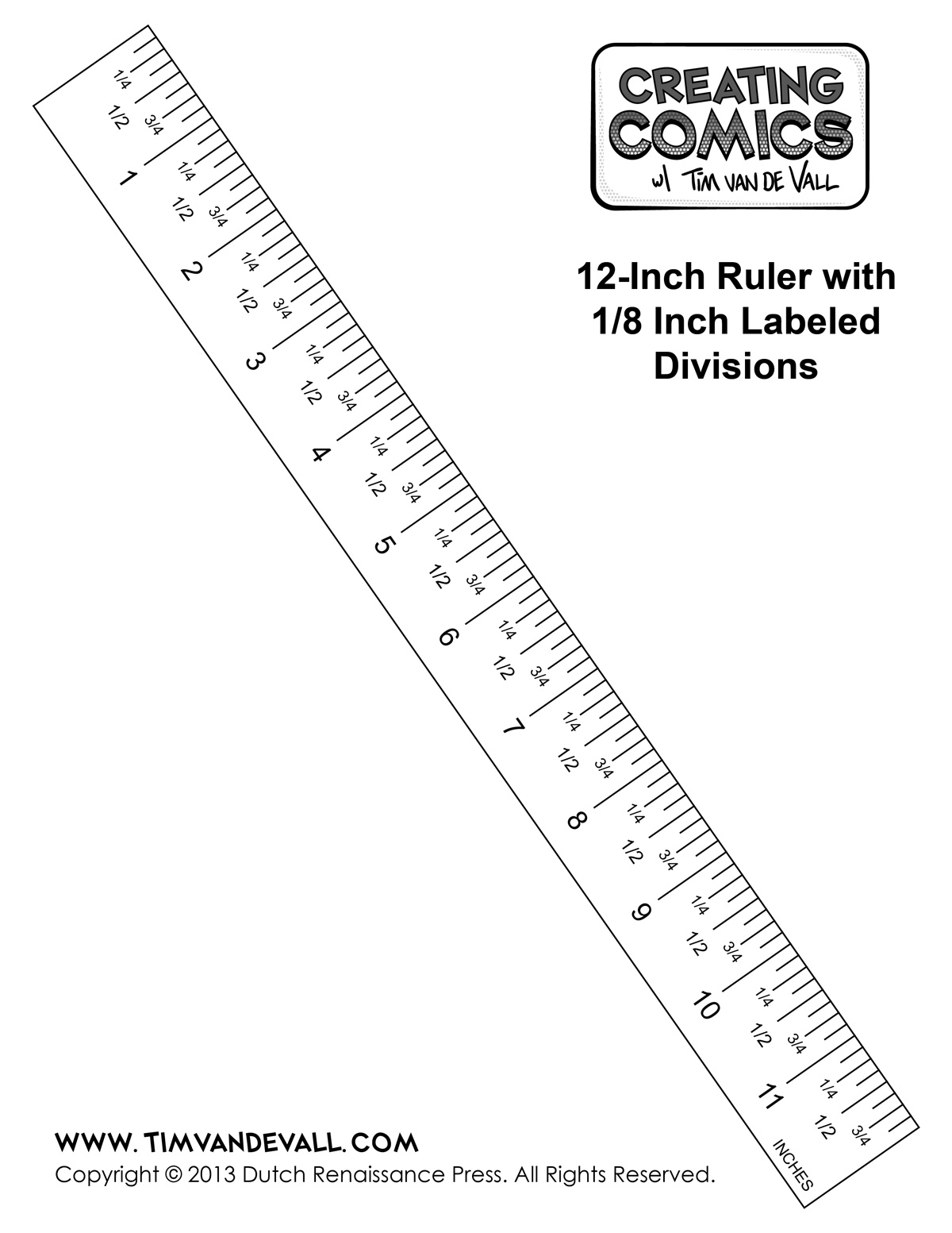 To Scale Inch Ruler Clipart   Clipart Suggest