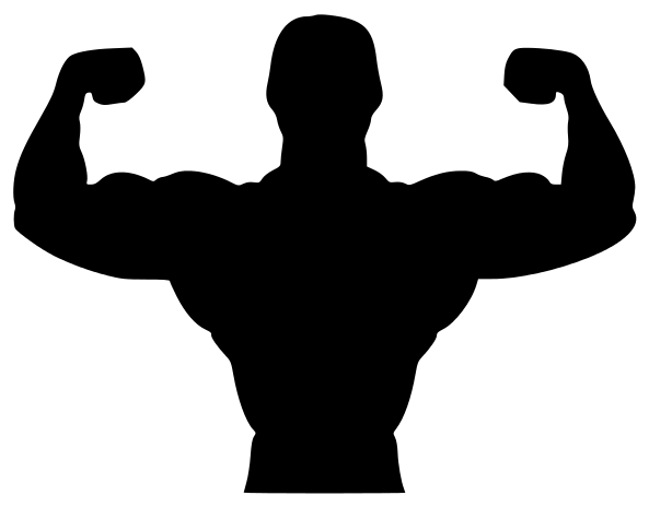 Clip Art Fitness Clip Art gym fitness silhouette clipart kid biceps panda free images