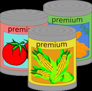 Canned Food Clip Art At Clker Com   Vector Clip Art Online Royalty