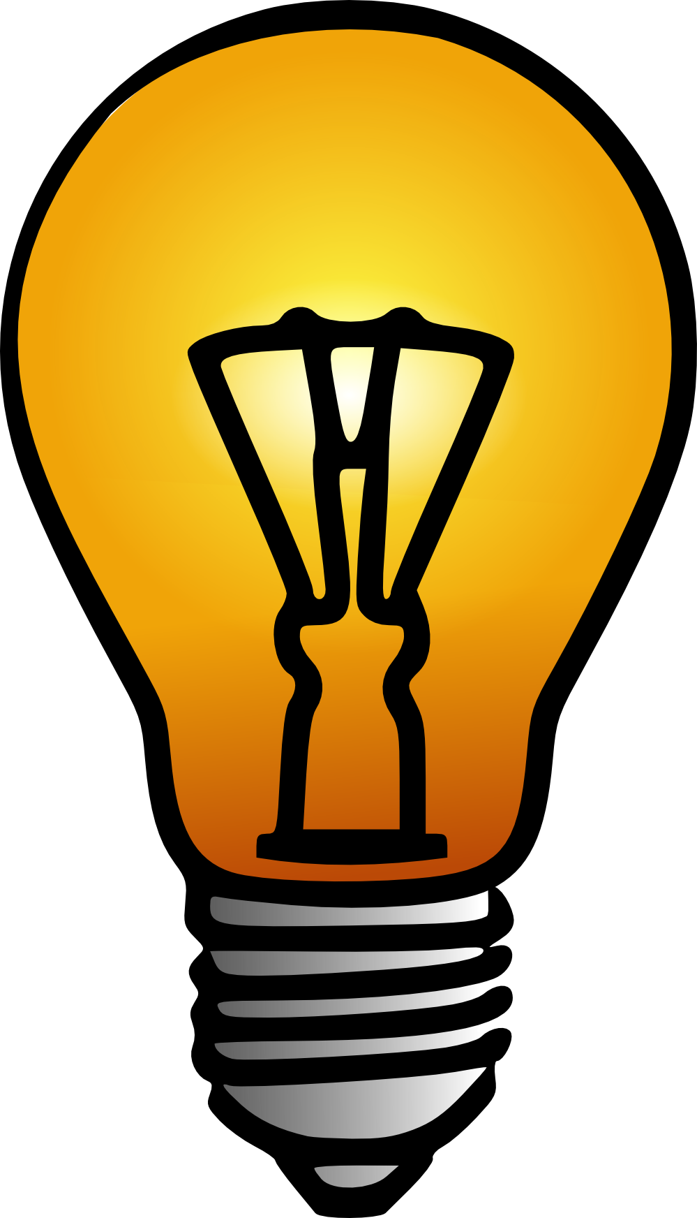 Cfl Lightbulb Clipart   Clipart Panda   Free Clipart Images