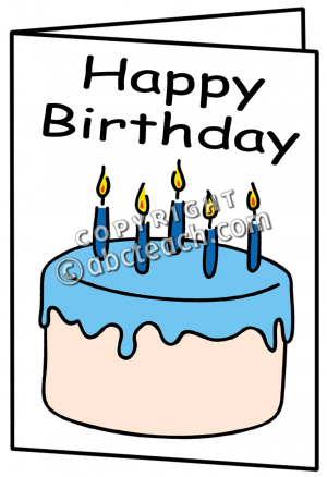 Birthday Card Clipart Clipart Suggest
