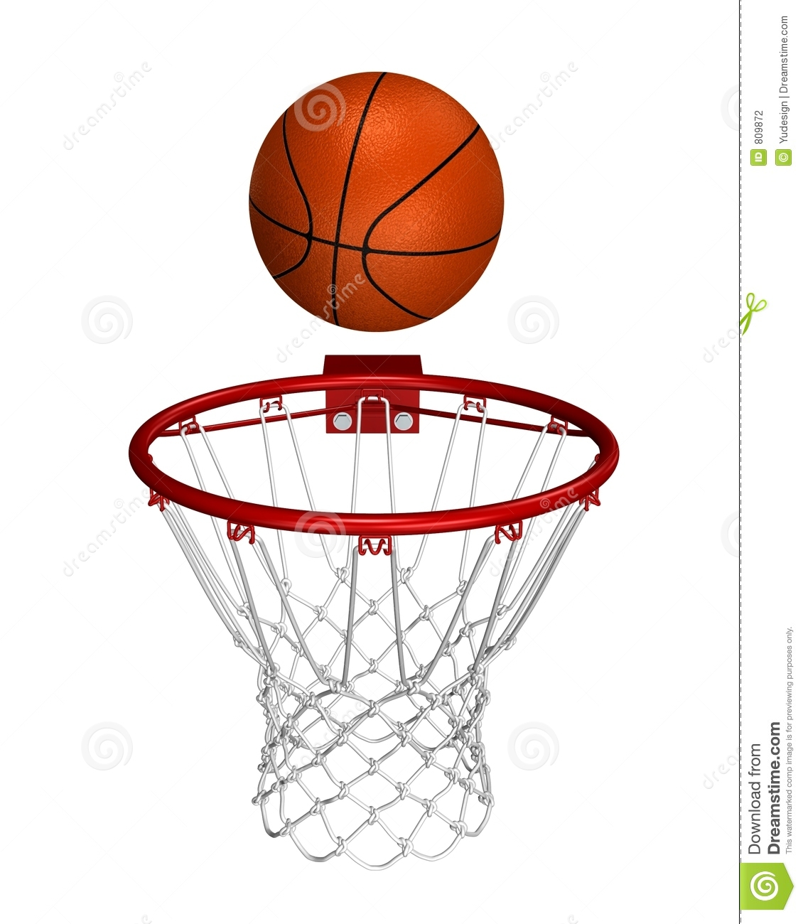 Displaying 13  Images For   Nba Basketball Hoop Clipart