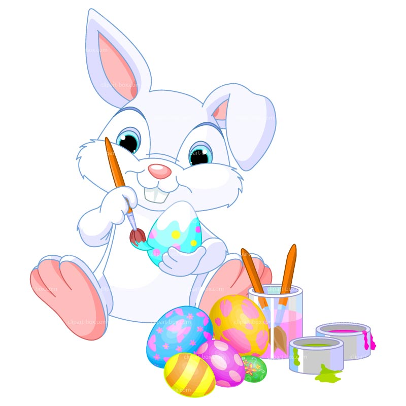 Free Cute Funny Easter Bunny Clipart Images Cute Cartoon Easter