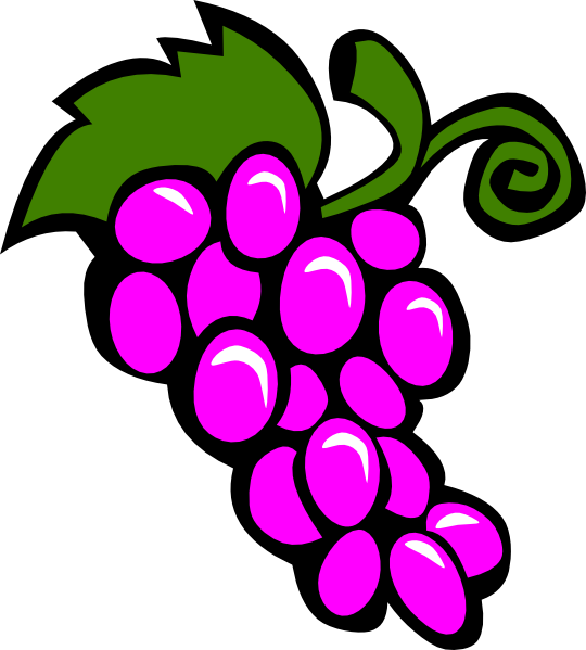 Grapes Vine Clip Art At Clker Com   Vector Clip Art Online Royalty