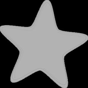 Grey Crayon Clipart Gray Star Clip Art