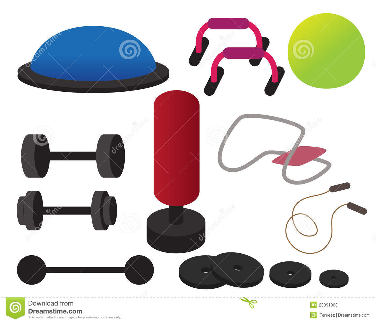 Gym Equipment1300 X 1117 Workout Equipment Clipart