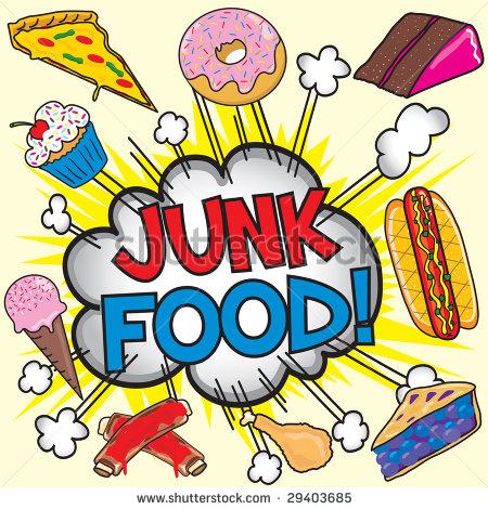 Junk Food Clipart - Clipart Kid