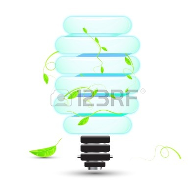 Natural Cfl On   Clipart