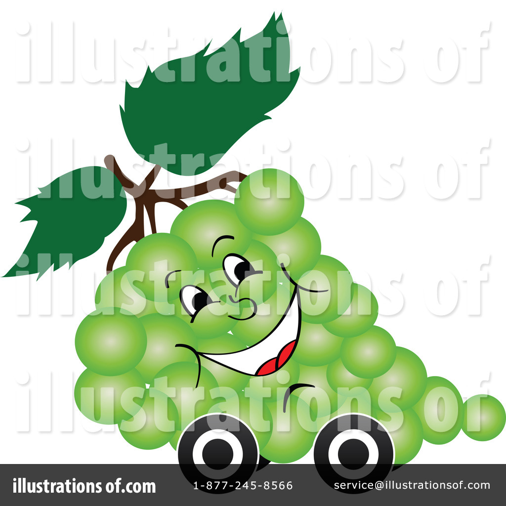 Royalty Free  Rf  Grapes Clipart Illustration By Andrei Marincas