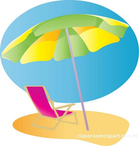 Clip Art Beach Umbrella Clipart beach umbrella clipart kid summer chair 2 classroom clipart