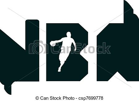 Vector Of Nba Typography   This Design Is Also Drawn In Adobe