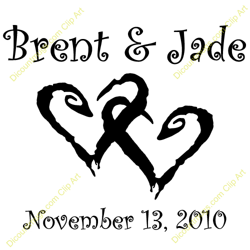 Clipart 11287 Brent   Jade   Brent   Jade Mugs T Shirts Picture