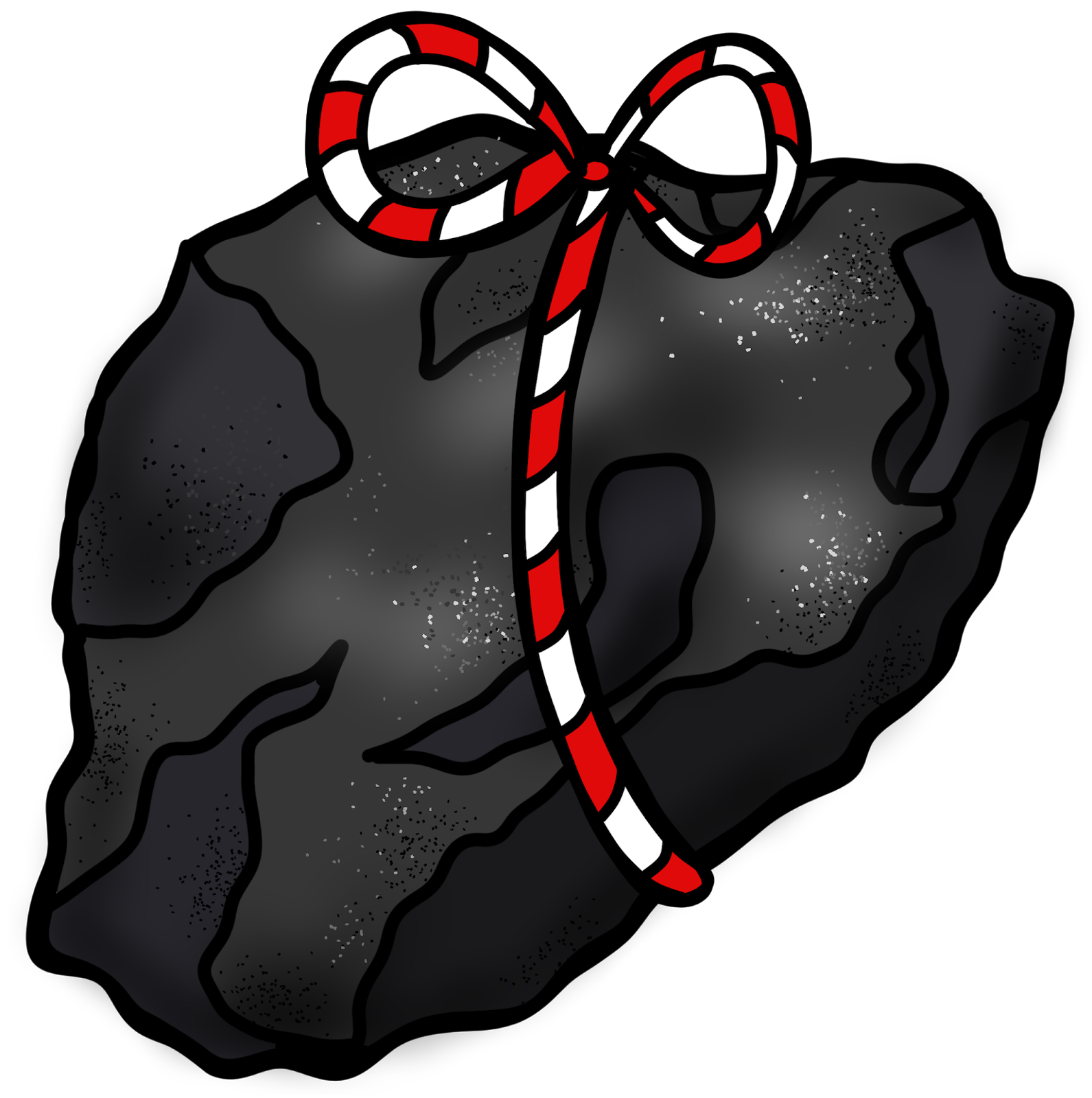 Educlips Design  A Lump Of Coal For Christmas