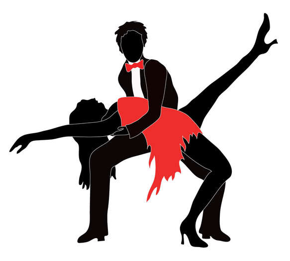 Images Of Salsa Dancers   Clipart Best