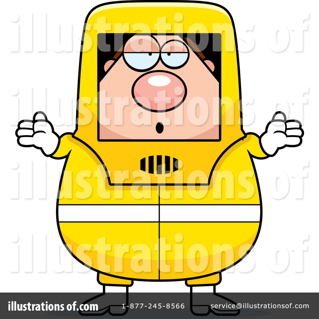 Hazmat Suit Cartoon Clip Art